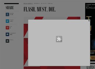 Chrome ставит Flash на паузу с первого сентября