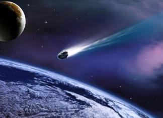 В атмосфере Земли взорвался гигантский метеорит