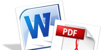 Сервисы конвертирования pdf в word