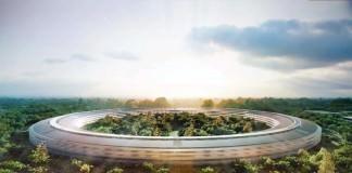 Новая штаб-квартира Apple глазами беспилотника