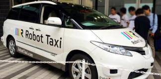 Японцы начнут испытания автономных такси