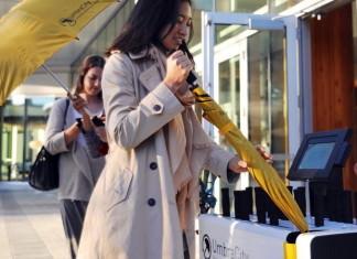 Стартап: первый автомат по аренде зонтиков