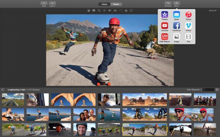 Редактирование видео «Клипы» – новое приложение от Apple