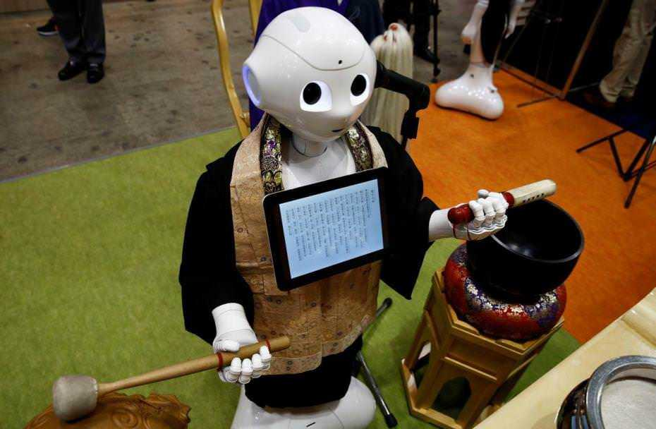 Покойся сбайтом. ВЯпонии представили робота-священника для похорон