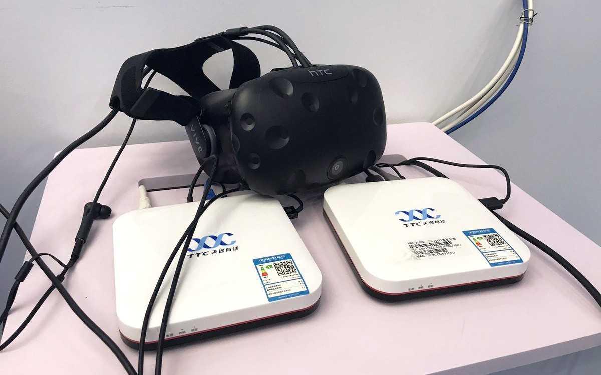 HTC Vive выгружает ПК благодаря службе облачного VR в Китае