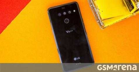 LG выводит Android 10 для V50 на Sprint