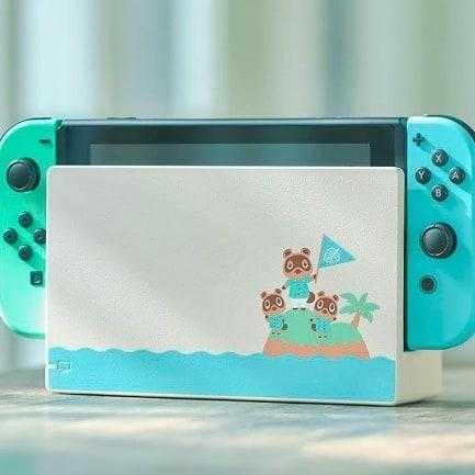 Они представляют красивое специальное издание Nintendo Switch, вдохновленное Animal Crossi