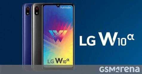 Представлен LG W10 Alpha, двойной телефон VoLTE начального уровня