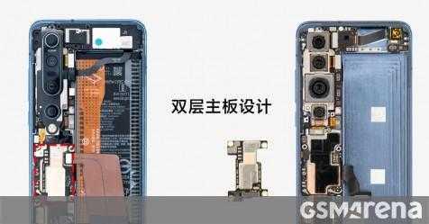 См Xiaomi Mi 10 Pro изнутри, появляется оценка производительности