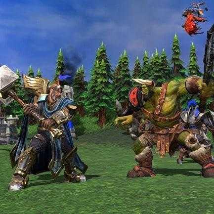 Warcraft 3 Перекованные игроки выражают свое недовольство новыми игроками.