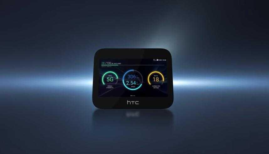 HTC Exodus 5G Hub - самый безопасный роутер в мире?