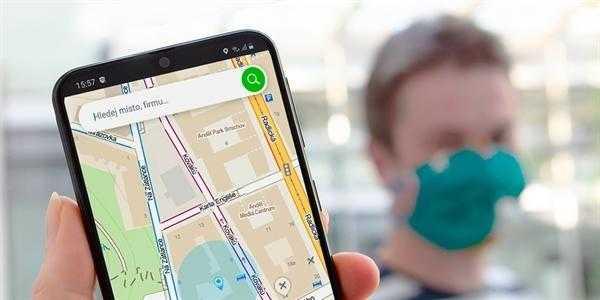 Mapy.cz поможет остановить распространение коронавируса. Это напоминает вам о близости положительно проверенных