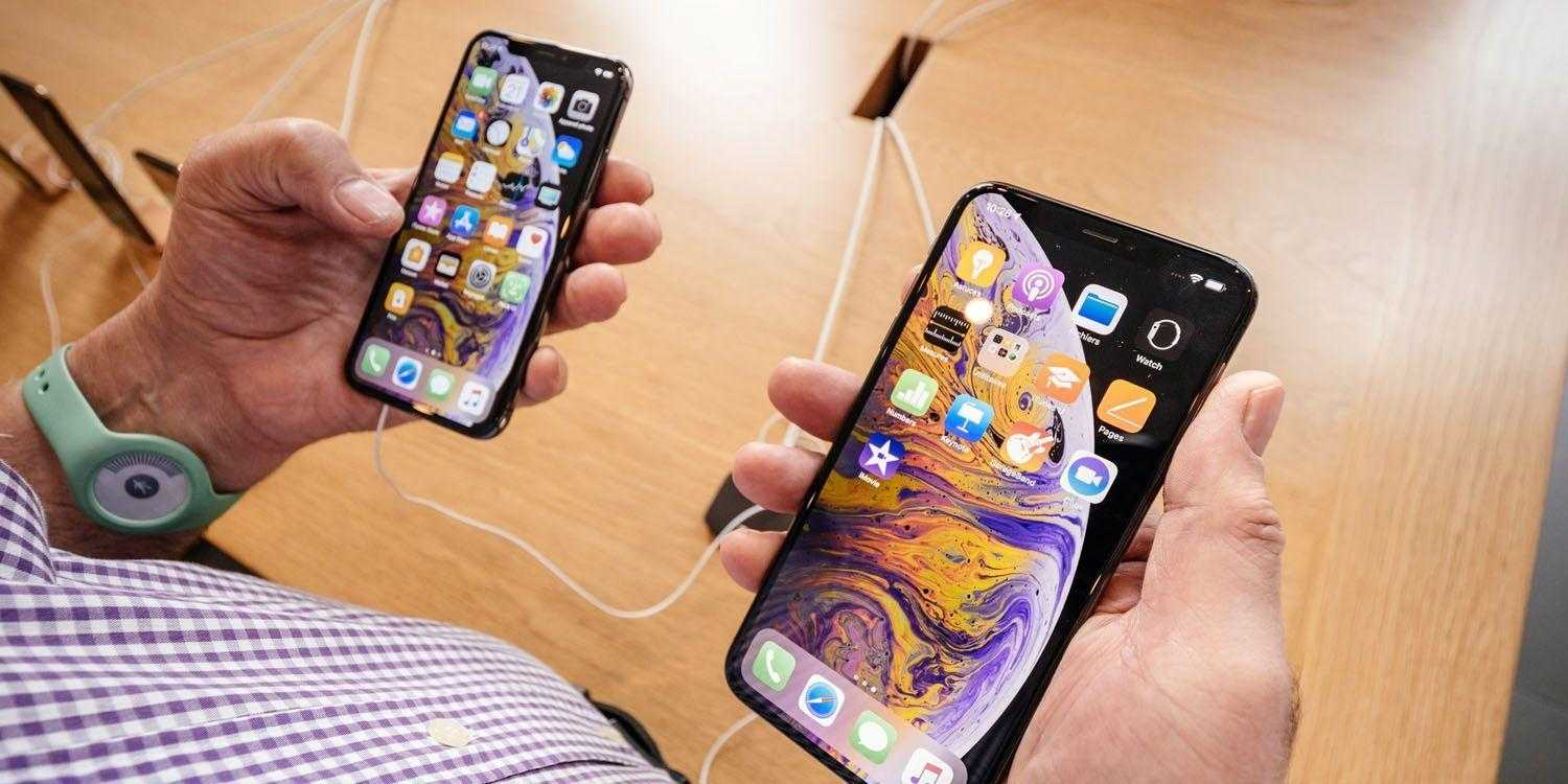 iPhone XS and XS Max iOS