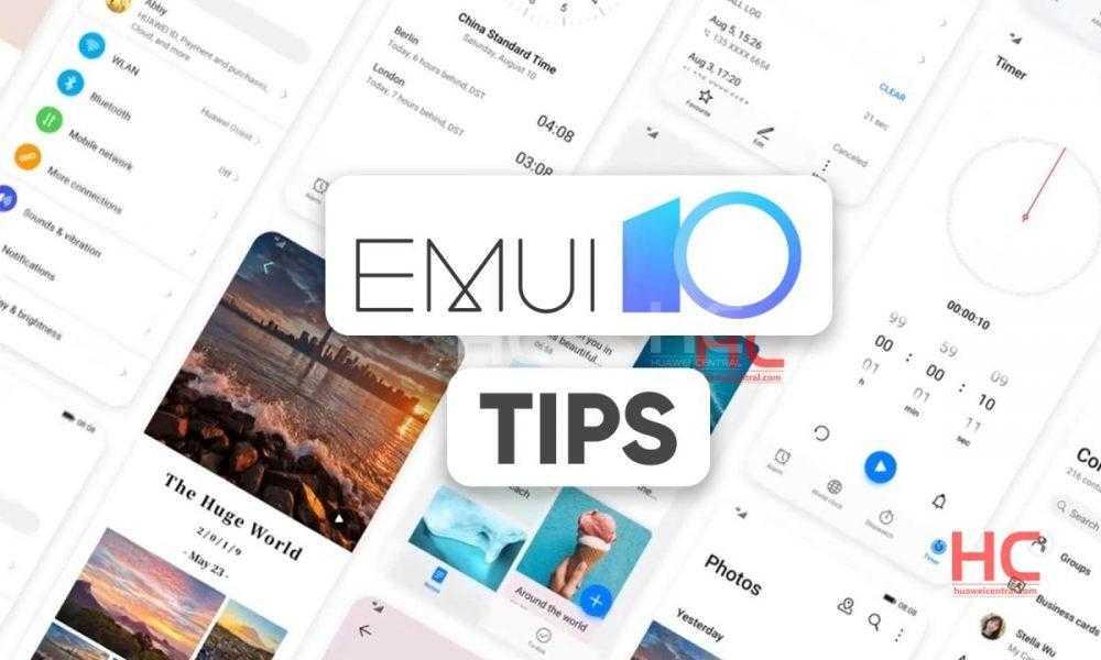 Совет по EMUI 10: как применять тему EMUI 10 - Huawei Central