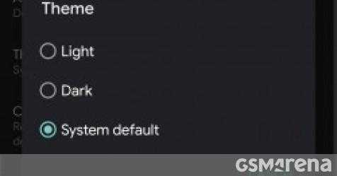 Темный режим Google Play теперь доступен каждому