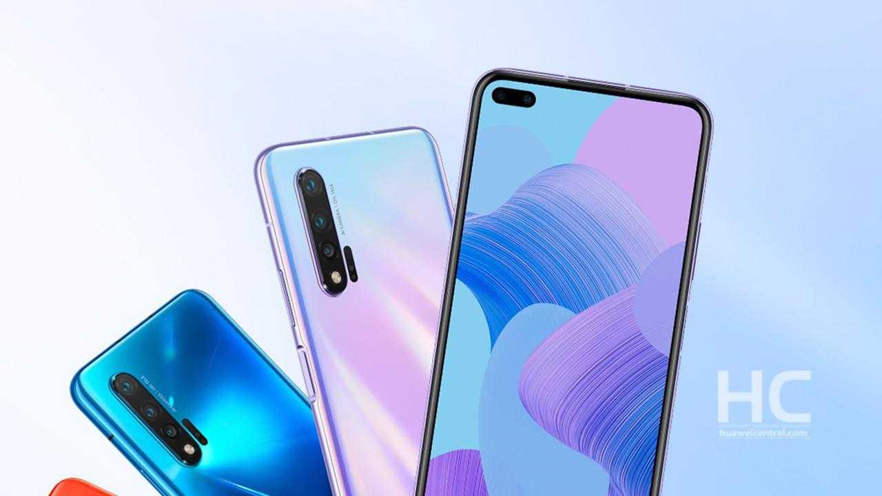 Huawei Nova 6 серии