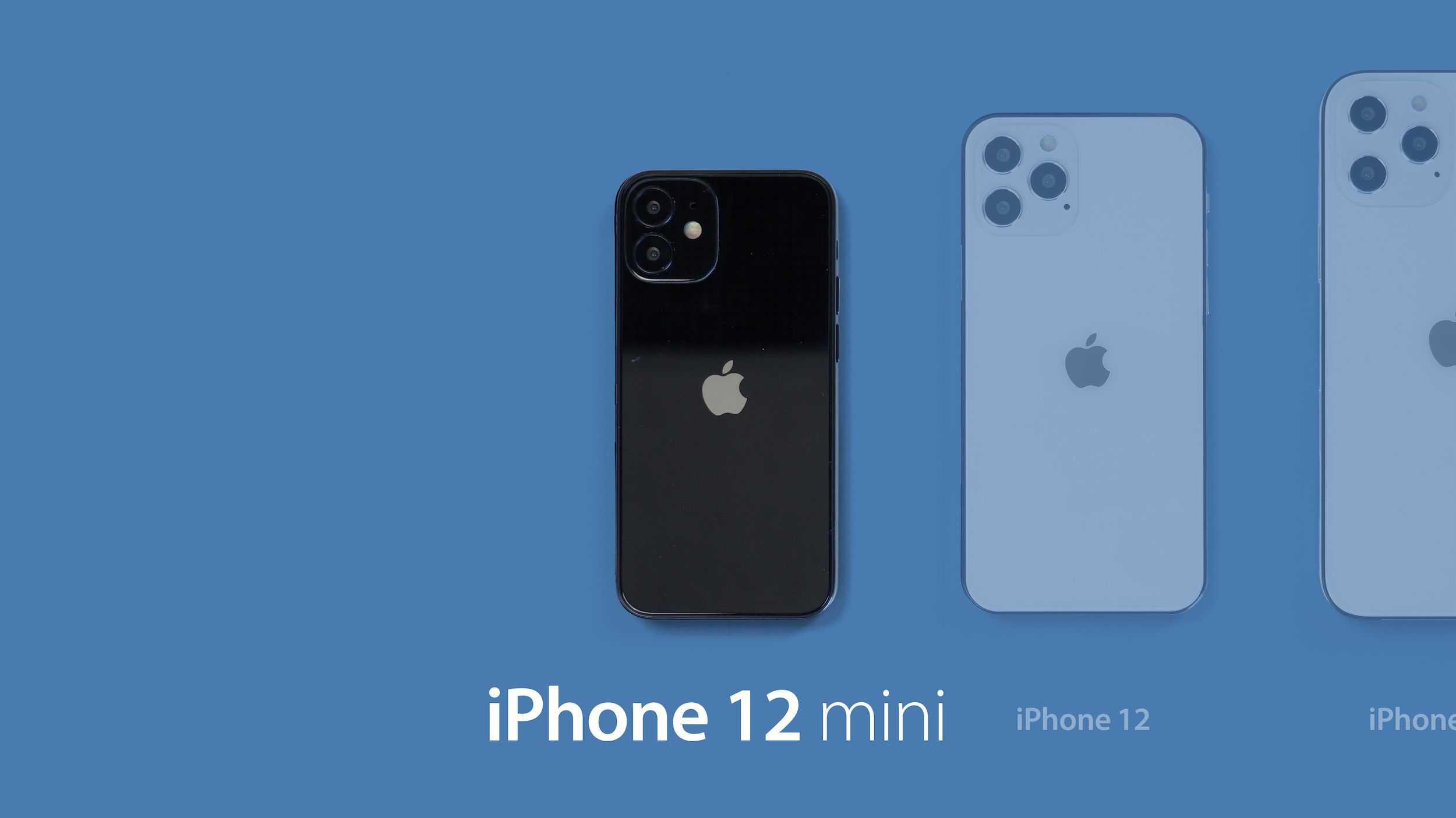 По слухам, линейка iPhone 12 будет называться «iPhone 12 mini», «iPhone 12», «iPhone 12 Pro» и «iPhone 12 Pro Max» - MacRumors