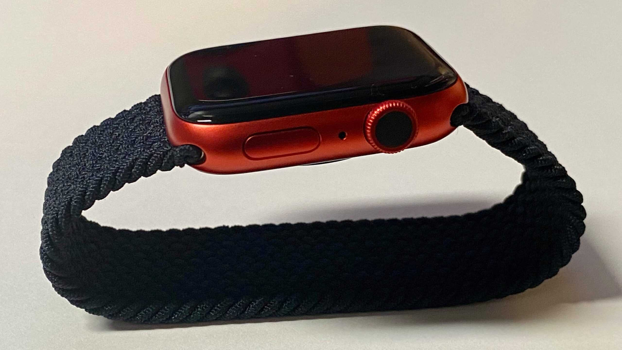 Практический опыт: продукт (КРАСНЫЙ) Apple Watch Series 6 и новая плетеная петля Solo Loop