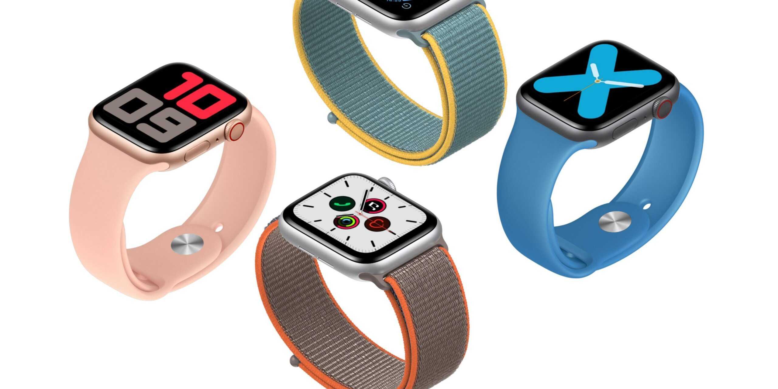 Предложения: Apple Watch Series 5 со скидкой 100 долларов, ремешки для часов Nike 3 по 10 долларов и многое другое.