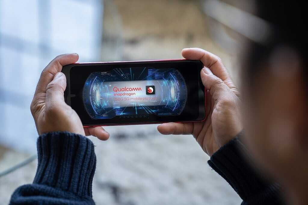 Qualcomm представляет Snapdragon 750G с модемом Snapdragon X52 5G