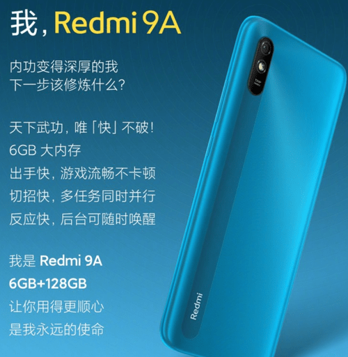 Redmi 9A в версии с 6 ГБ ОЗУ - редкость, недоступная для поляков / fot / Xiaomi