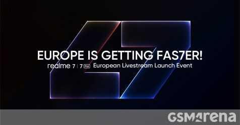 Серия Realme 7 выйдет в Европу 7 октября