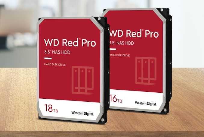Western Digital обновляет Red Pro Line с точками емкости 16 и 18 ТБ