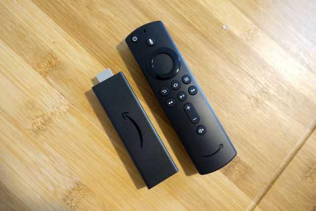 Amazon Fire TV Stick 4K.