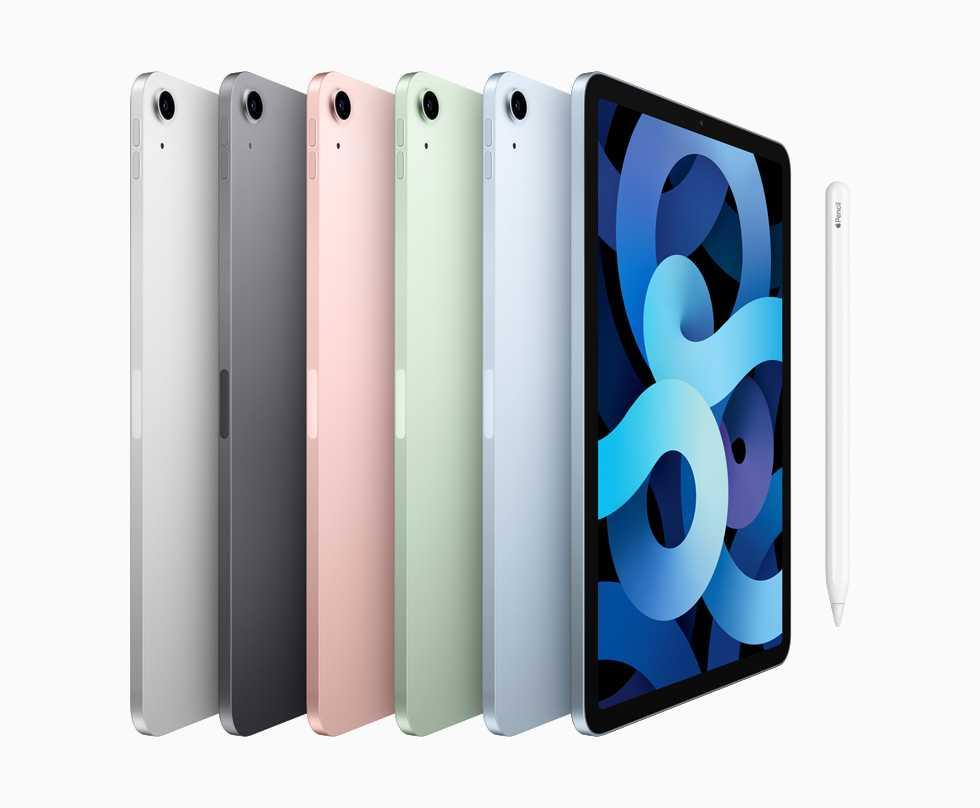 Apple запускает новый iPad Air с A14 Bionic, который теперь доступен для предварительного заказа