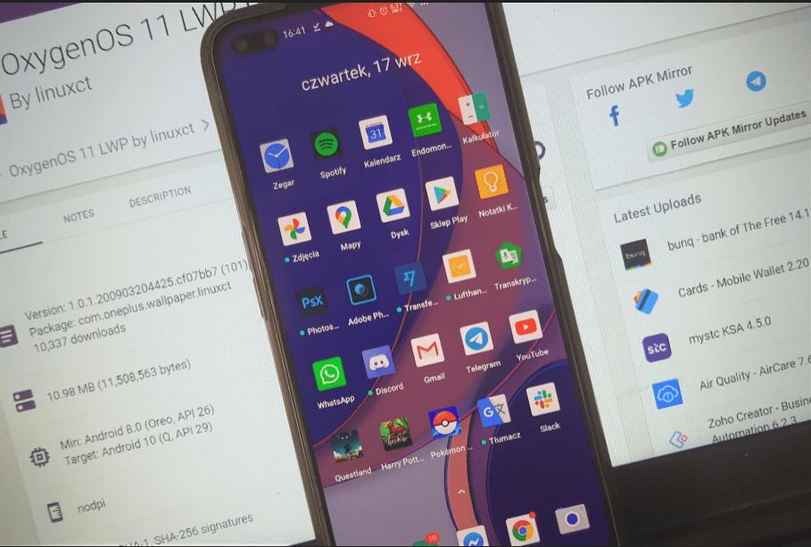 Еще одни живые обои от OxygenOS 11 теперь доступны для установки на любой Android-смартфон. Где скачать