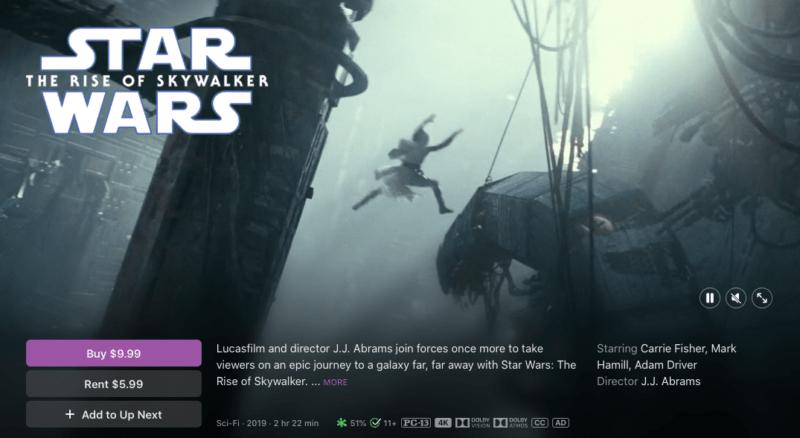 Фильмы Disney, Marvel и Pixar теперь доступны в 4K HDR на Apple TV и iTunes