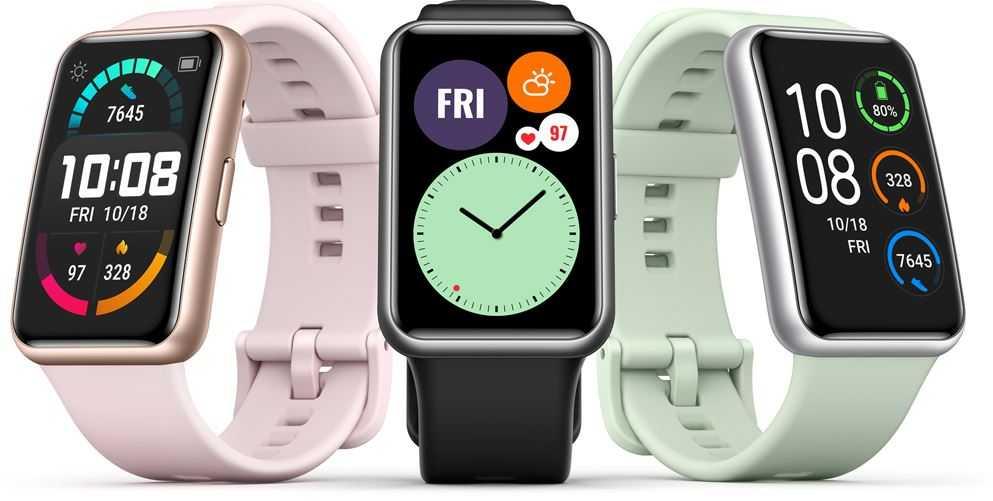 Huawei запускает Huawei Watch Fit в Сингапуре, предварительный заказ начинается с 17 октября, а продажа - 24.