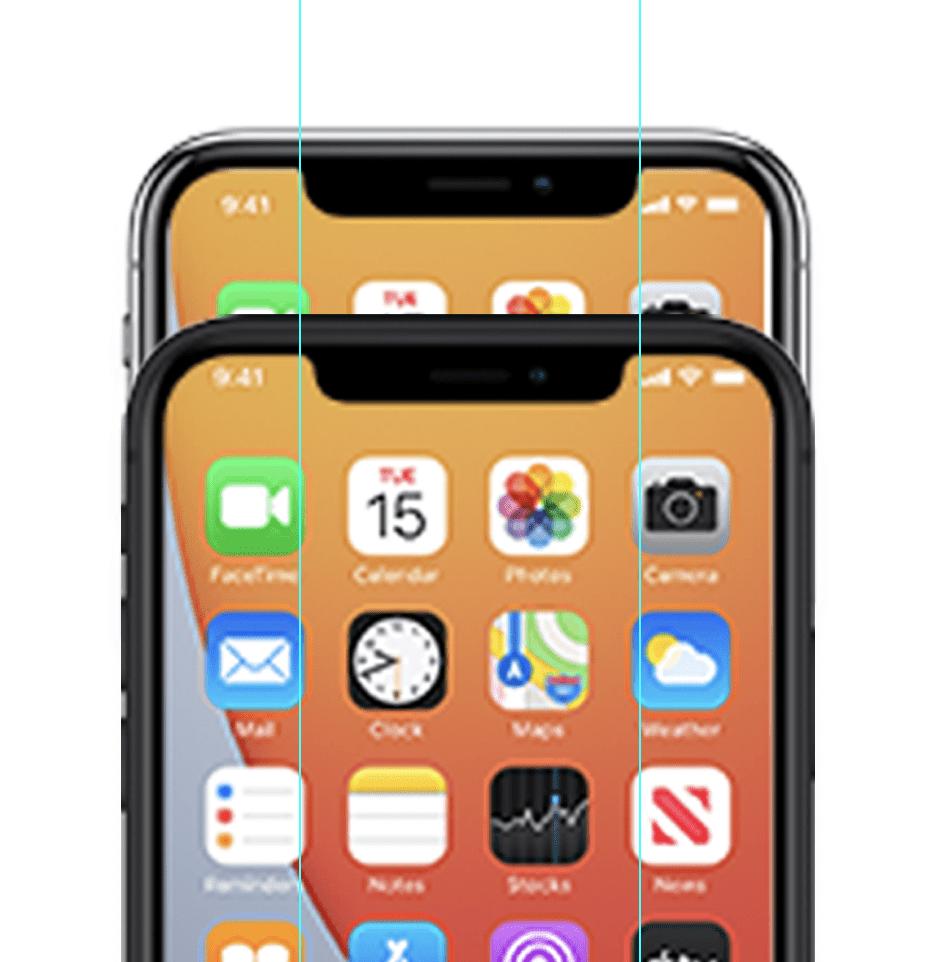 Иконки iPhone 12 появляются на сайте iCloud, демонстрируя более узкую выемку и многое другое