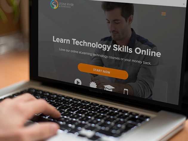 Изучите программирование, дизайн и многое другое с 20% скидкой на пожизненный доступ к электронному обучению Stone River уже сегодня