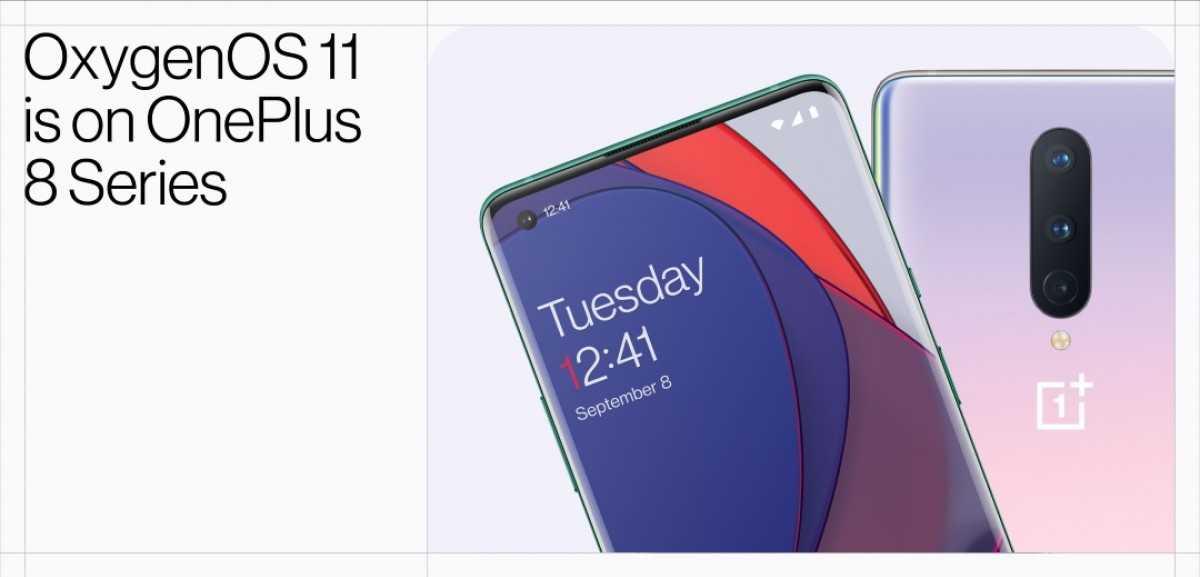 OnePlus 8, 8 Pro получают стабильное обновление OxygenOS 11 на базе Android 11