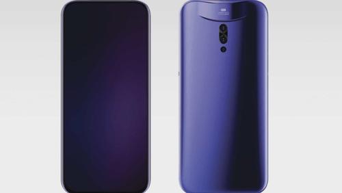 Концепт смартфона Vivo со съемной камерой / фото. Vivo