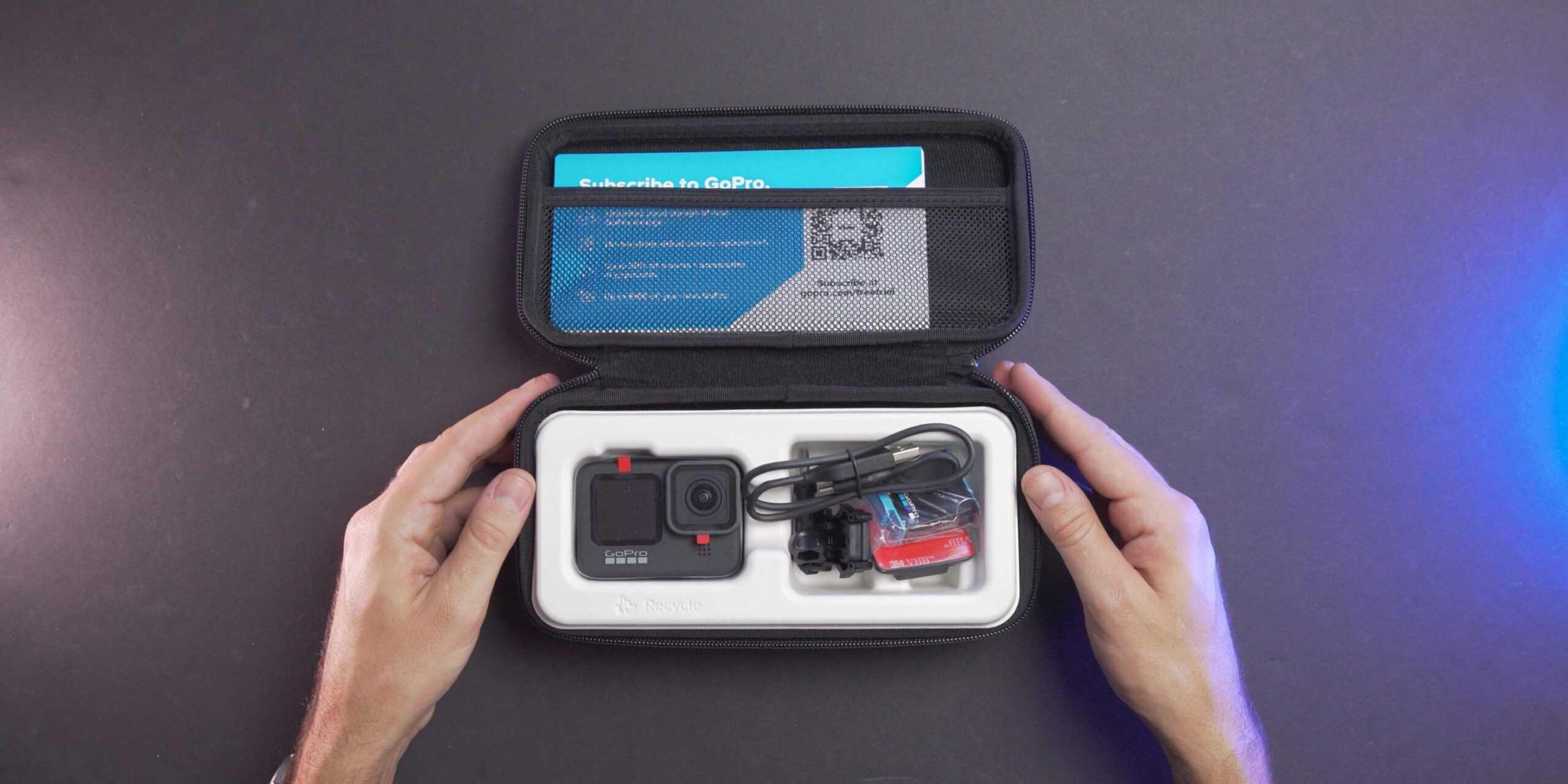 Многоразовый футляр для GoPro Hero9 Black
