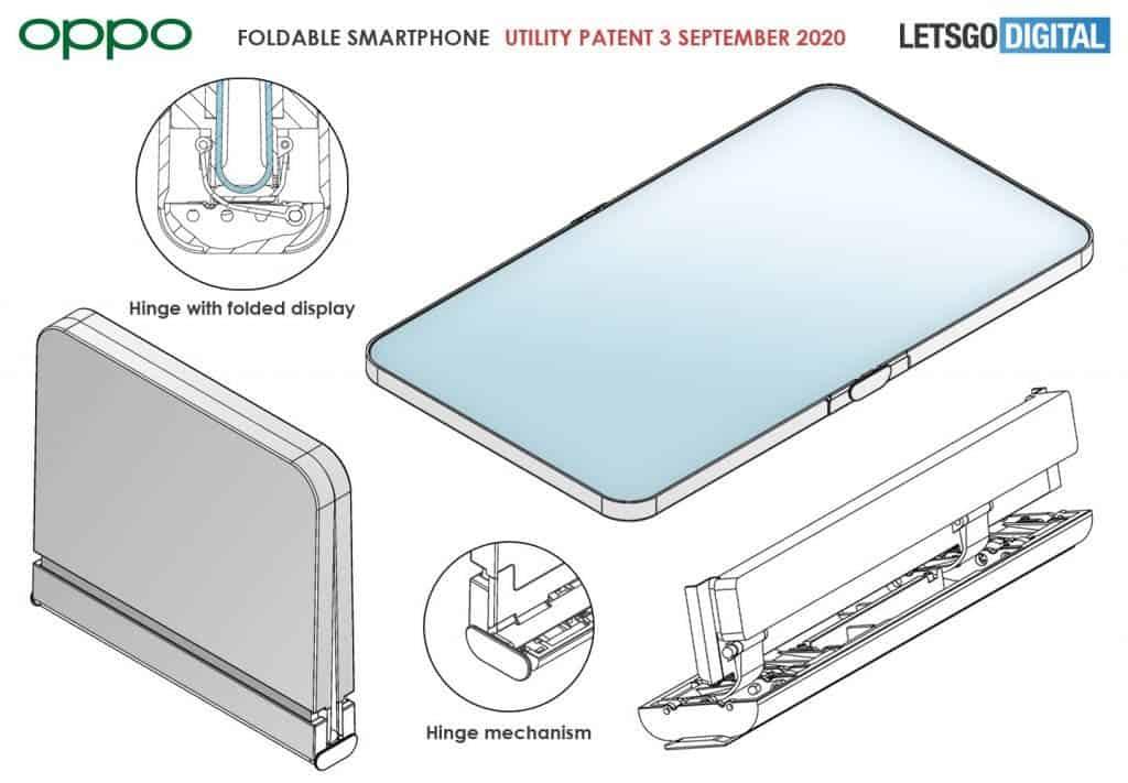 Складной телефон Oppo