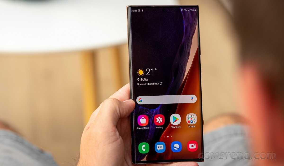 Последнее обновление Samsung Galaxy Note20 Ultra направлено на увеличение срока службы батареи