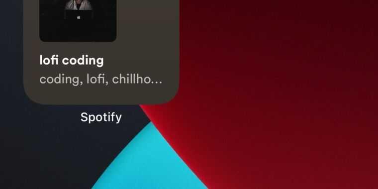 Приложение Spotify для iPhone и iPad теперь включает виджеты на главном экране