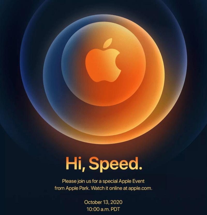 «Привет, скорость»: ожидается, что на мероприятии Apple 13 октября будет представлен iPhone 12.