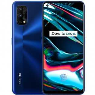 Realme 7 Pro в цвете Mirror Blue