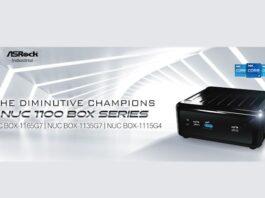 Серия ASRock Industrial NUC 1100 BOX переносит Tiger Lake в системы UCFF