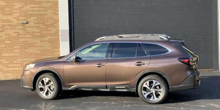 Subaru Outback 2020 - это фан-сервис в лучшем виде