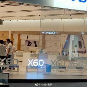 Световые вывески предвещают запуск vivo X60 в розничных магазинах Китая