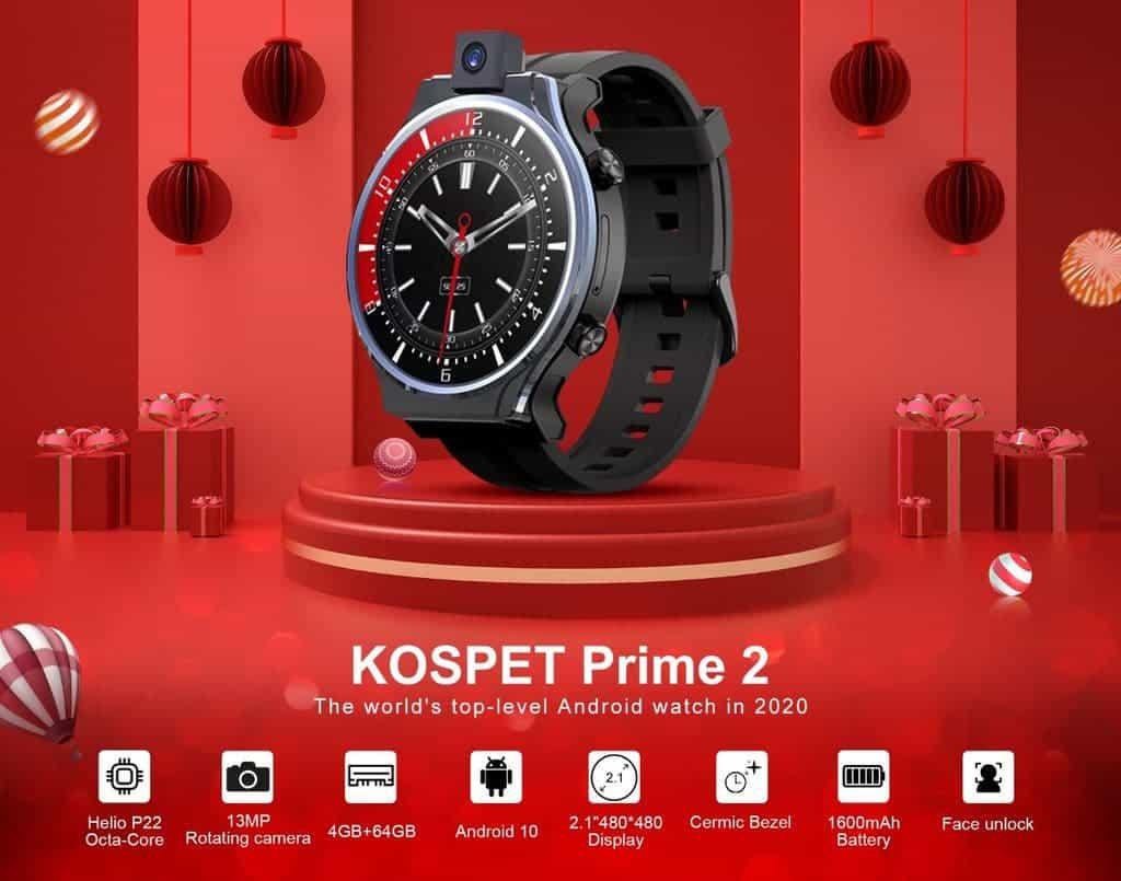 Выиграйте умные часы KOSPET Prime 2 в событии Lucky Draw