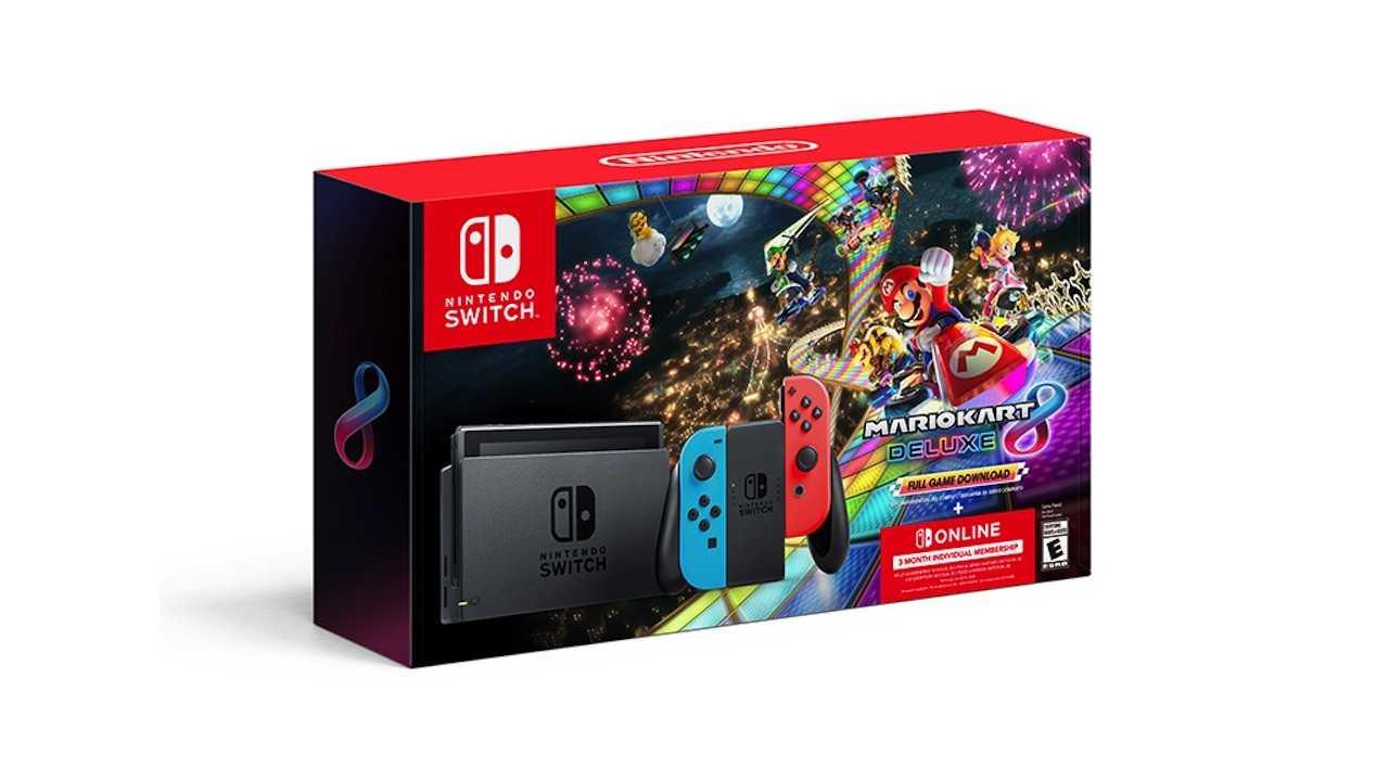Черная пятница: набор Nintendo Switch Mario Kart в Walmart, лучшая покупка
