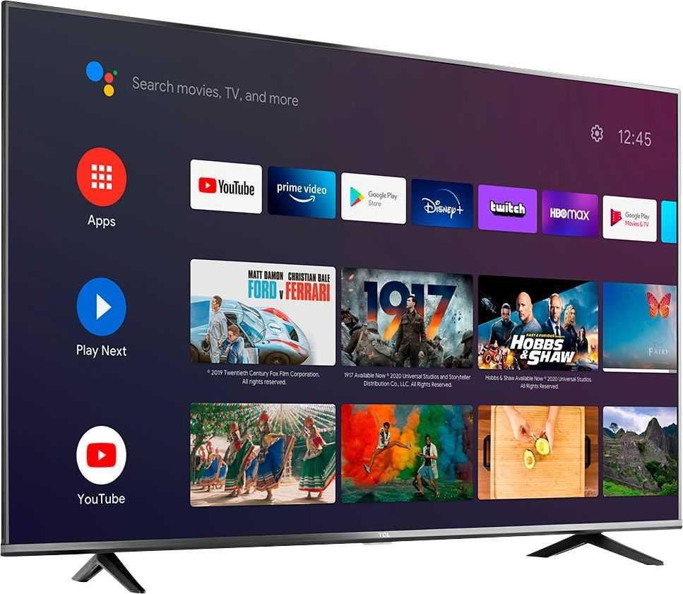 50-дюймовый светодиодный 4K-телевизор TCL