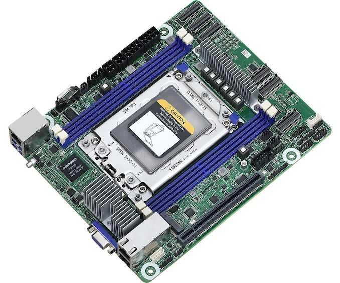 AMD EPYC Rome в (Deep) Mini-ITX? Новый ROMED4ID-2T от ASRock Rack