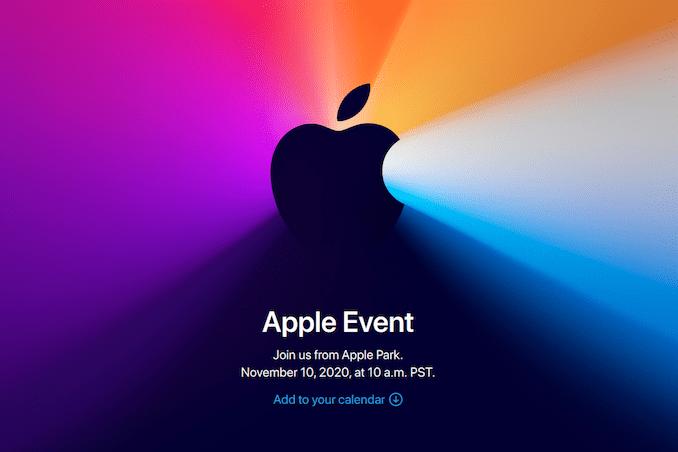 Apple объявляет о мероприятии 10 ноября: ожидаются компьютеры Mac на базе Arm
